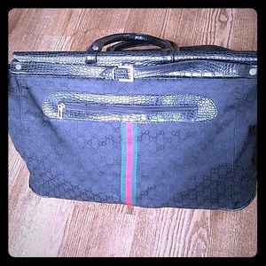 Vintage Gucci Duffle Bag